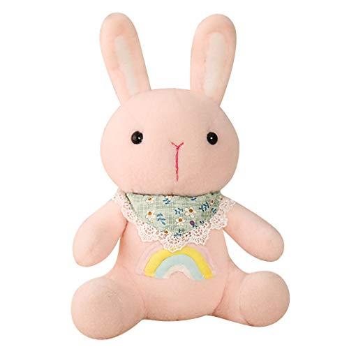 HJHJK Super Weiche Schöne Plüschpuppe Tierspielzeug Für Kinder Baby Umarmung Puppe Schlafkissen Wohnkultur (Color : Pink, Size : 45cm)