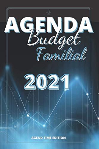 Agenda Budget Familial: Agenda Gestion Budget Familial | Carnet de planification de budget | journal de trésorerie | Livre de gestion des dépenses |