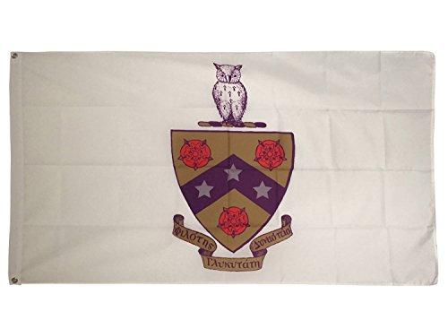 Desert Cactus Phi Gamma Delta Fiji Crest Fraternity Flag Greek Letter Banner Large 3 feet x 5 feet Sign Decor