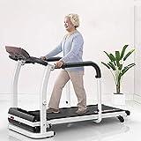 Woodtree cintas de correr, caminadora eléctrica plegable 2.0HP rehabilitación motora casa rodante Ancianos paseando máquina de ejercicios de recuperación del miembro interior Creación de equipos, 0.5-