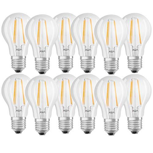 OSRAM LED BASE CLASSIC A60 FILAMENT E27 6,5=60W 806lm neutral weiß 4000K A++12er