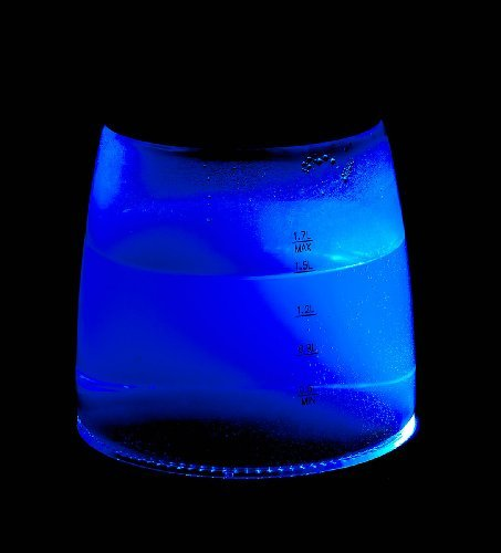 Rosenstein & Söhne Glas Wasserkocher: Wasserkocher, temperaturabhängige LED-Beleuchtung, 1,7 Liter, 2200 W (Wasserkocher LED Farbwechsel)