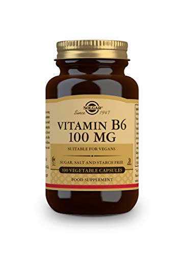 SOLGAR Vitamine B 6 100 mg 100Cap