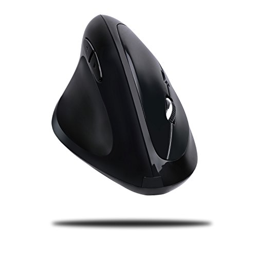 Adesso iMouse E70-2.4GHz Wireless Ergonomic Vertical Left-Handed Mouse