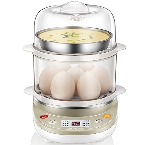 ZHHAOXINPA Hervidor De Huevos, Hervidor De Huevos, Hervidor Eléctrico De Huevos Cocedor Furtivo - Taza Medidora Y Perforador De Huevos Incluidos