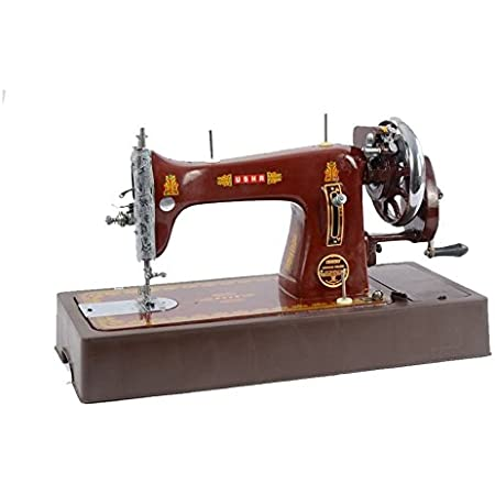 USHA BANDHAN COMPOSITE MANUAL SEWING MACHINE WITH COVER