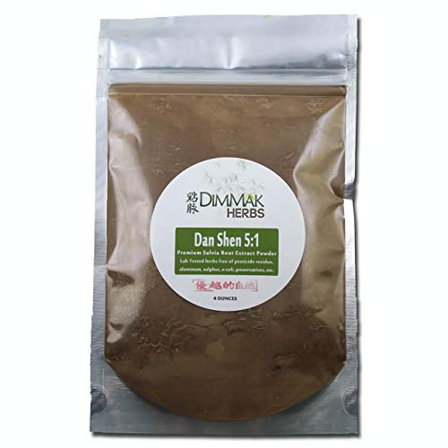Dan Shen 5:1 Extract Powder 4oz | Salvia Root (Red Sage) Lab Tested 5:1 Concentrated Powder 112g