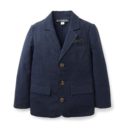 Hope & Henry Boys' Navy Suit Jacket Size 4