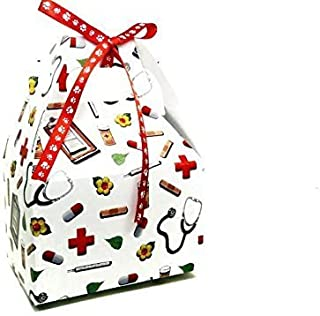 Gourmet Dog Treats - Mini Get Well Gift Box Sampler - Hand-Crafted Organic Vegetarian Dog Treats - Christmas Assortment Stocking Stuffers - Made in The USA of Human Grade Ingredients