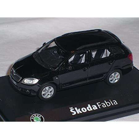 Skoda Fabia Combi Schwarz Modellauto Abrex 1 43 Spielzeug