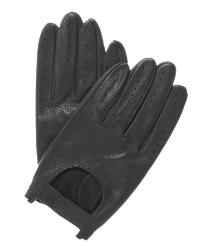 Monte Carlo Men's Deerskin Driving Gloves by Pratt...