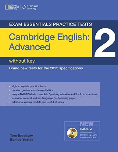 Exam Essentials Practice Tests: Cambridge English Advanced 2 with DVD-ROM