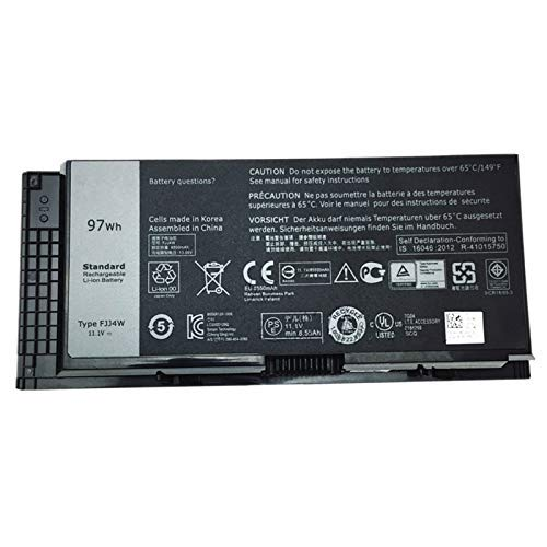 Szhyon 11.1V 97Wh Laptop Battery FV993 T3NT1 Compatible with Dell Precision M4600 M4700 M6600 M6700 PG6RC R7PND 0TN1K5 FV993