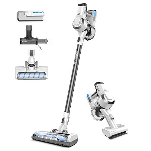 Tineco A10 Master Cordless Stick Vacuum Cleaner, Powerful Suction, Multi-Surface Cleaning, Great for Pet Hair, Metallic Grey