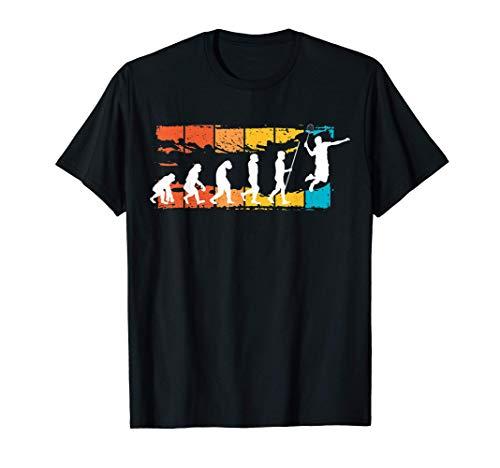 Evolution Badminton | Federball | Badmintonspieler Geschenk T-Shirt