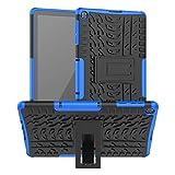Kemocy Funda para Huawei MatePad T10 / T10s 2020, Protección de PC + TPU con Función de Soporte para Huawei MatePad T10s 10.1' AGS3-L09 AGS3-W09 / T10 9.7' AGR-L09 AGR-W09 Tablet,Azul Oscuro