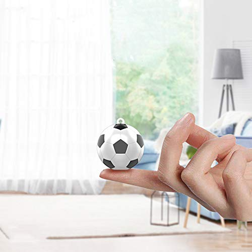 RLSF Mini cámara 1080P HD, cámara de fútbol portátil, pequeña grabadora de Video para Interiores y Exteriores, cámara espía de visión Nocturna, microcámara de Seguridad para el hogar