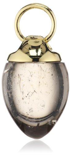 Joop Damen-Anhänger Rauchquarz vergoldet 925 Sterling Silber JPCH90002A000