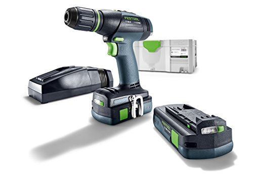 Festool accuboormachine T 18 + 3 Li 3,1-Com. S – 575596.