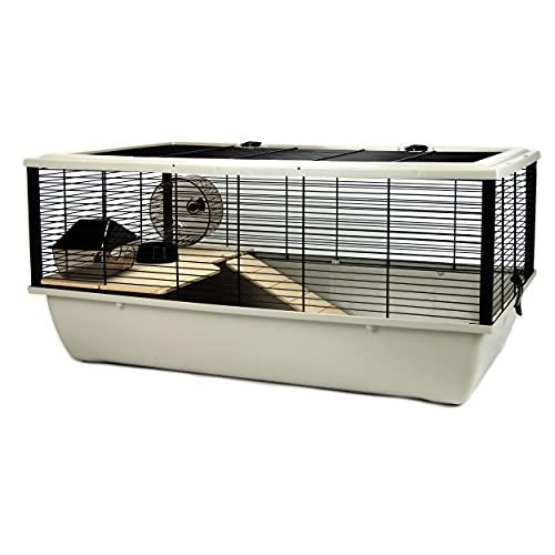 Little Friends Grosvenor Cage à Rat et Hamster avec étagère en Bois et échelle