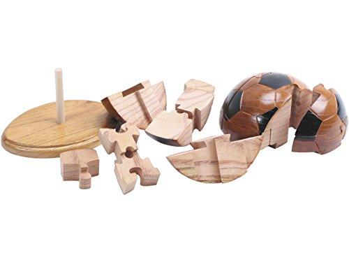 NATURPLAY Puzzle 3D Balon Madera: Amazon.es: Juguetes y juegos