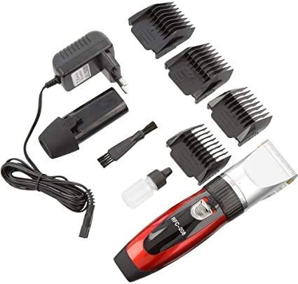 Tondeuse à cheveux rechargeable haute precision AVEC LAME EN CERAMIQUE IDEAL POUR LES ENFANTS/HOMMES/ANIMAUX