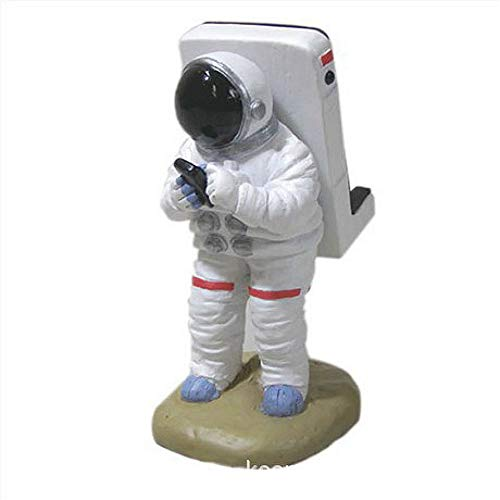 Mobile Phone Holder Lazy Creative Bedside Mobile Phone Holder Creative Spaceman White Cute Mobile Phone Stand