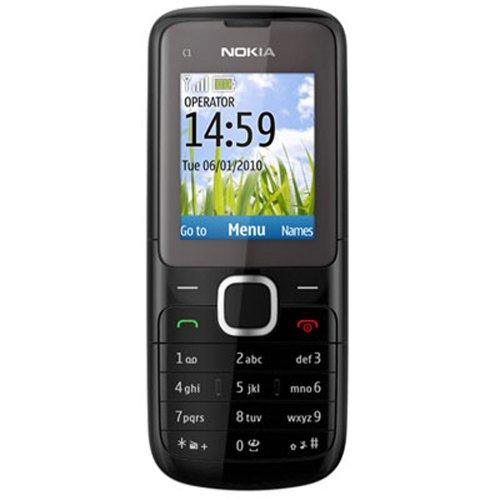 Nokia C1-01 Sim Free Mobile Phone Dark Grey