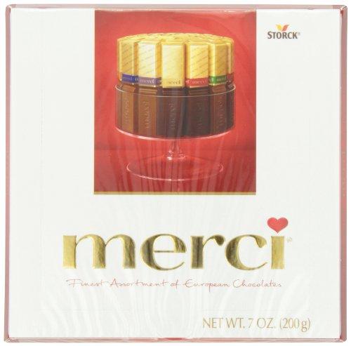 Merci European Chocolates, 7 Ounce (Pack of 10)