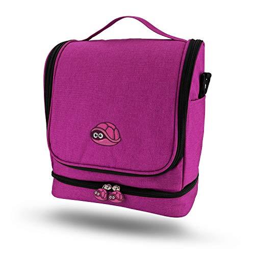 fridoli Tasche für Toniebox und Zubehör - Kinderrucksack (Berry)