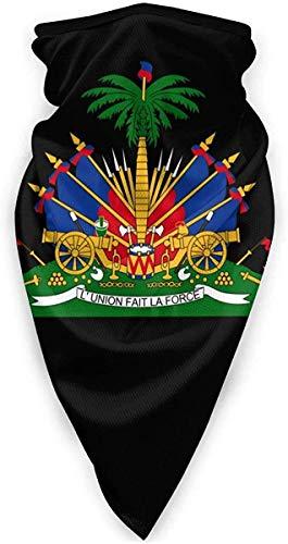 Emblema nacional de Haití Polaina de cuello a prueba de viento bufanda al aire libre SportBalaclava
