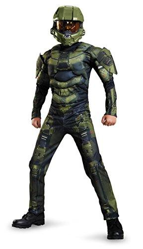 Halo Master Classic Muscle Disfraz infantil Unisex niños
