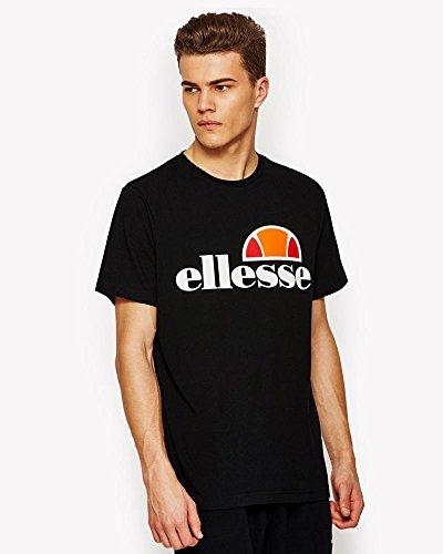 ellesse Prado Herren-T-Shirt - Schwarz - L