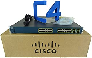 Cisco WS-C3560G-24PS-S Catalyst 3560G-24PS 24 Ports Switch (Renewed)
