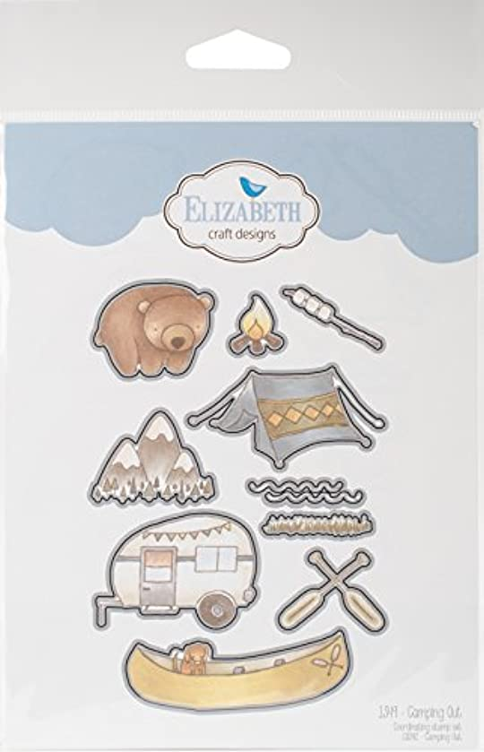 Elizabeth Craft Designs 1349 Elizabeth Craft Metal Die-Camping Out