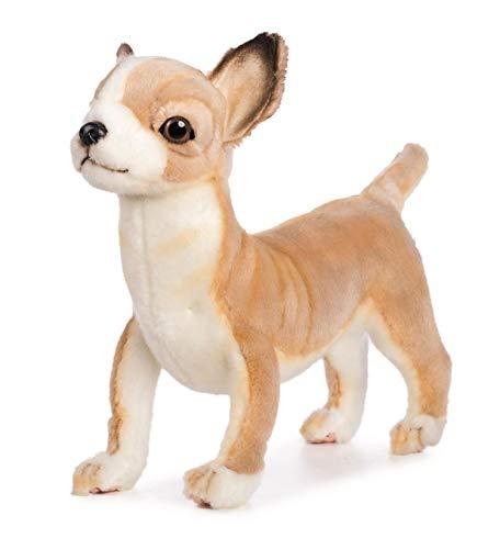 HANSA Chihuahua Plüschtier Hund stehend 27 cm. 6295