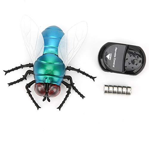 DERCLIVE Simulación insecto mosca juguete infrarrojo teledirigido detección portátil