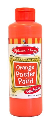 Doug Orange Poster Paint - 2