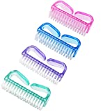 Handle Nail Brush Fingernail Brush Cleaner Hand Scrub Cleaning Brush for Toes (Size (1))