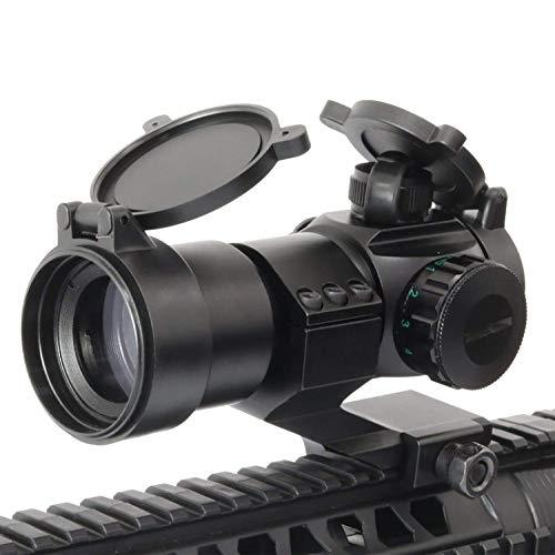 Sutekus HD-M3 Red Green Dot Sight Tactical Gun Sight for 20mm Cantilever Mount