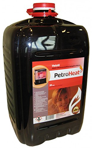 Heizöl Cago Petroleum Petroheat rot im 20L Kanister