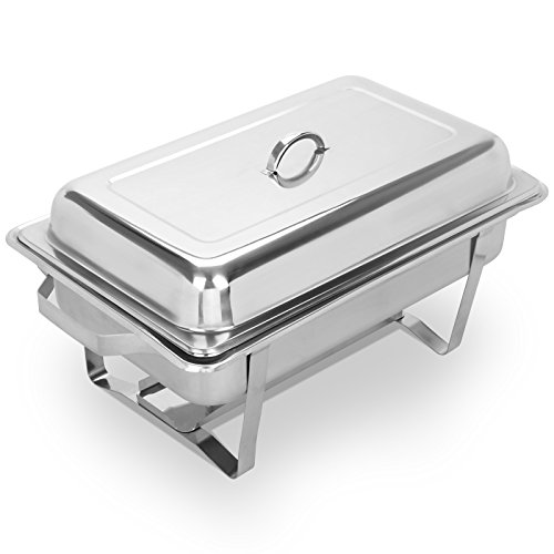 Smart Buffet Ware 1A11913 Stainless Steel Wind Guard for Oblong Chafing Dish