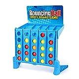 ChengBeautiful Conectar Juego Shooting Game Board Games Dobling Bouncing Linking Shots Bounce Juguetes Educativos Juegos Familiares (Color : Azul, Size : 42x20x31cm)