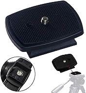 DSLR SLR Camera Tripod Quick Release Plate / Shoe   1/4 Screw Thread   4.4cm x 4.4cm Base