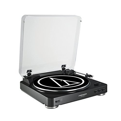 Audio-Technica ATLP60USB LP to USB Digital Belt Drive Turntable - (Black)