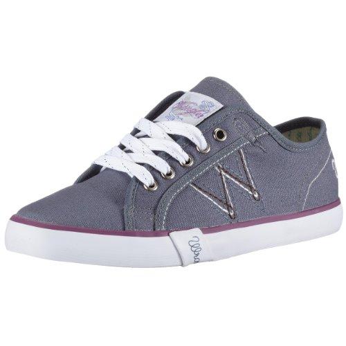 Wrangler Affliction 4 W101016, Damen Sneaker, blau, (denim 102), EU 36, (US 4.5)