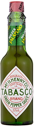 Tabasco Green Pepper Sauce, 3er Pack (3 x 57 ml)