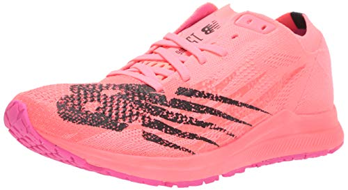 New Balance Women's 1500 V6 Running Shoe, Guava/Peony, 10 M US