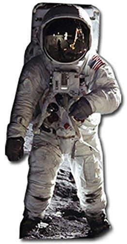 Star Cutouts Pappaufsteller von Buzz Aldrin Astronaut