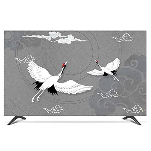 catch-L Interior TV LCD Cubierta De La Pantalla Cubierta De Protección Solar A Prueba De Polvo Protección De La Televisión (Color : Gray, Size : 22/24inch)
